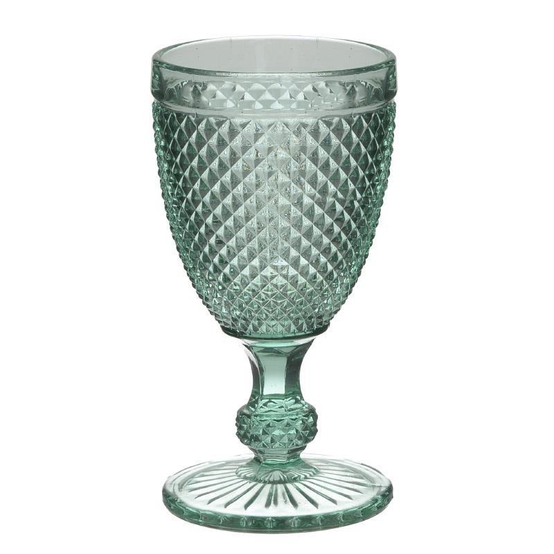 Ποτήρι Κρασιού Σετ 6τμχ Γυάλινο Δ8x15εκ. inart 6-60-504-0021 - inart - 6-60-504- κουζινα ποτήρια