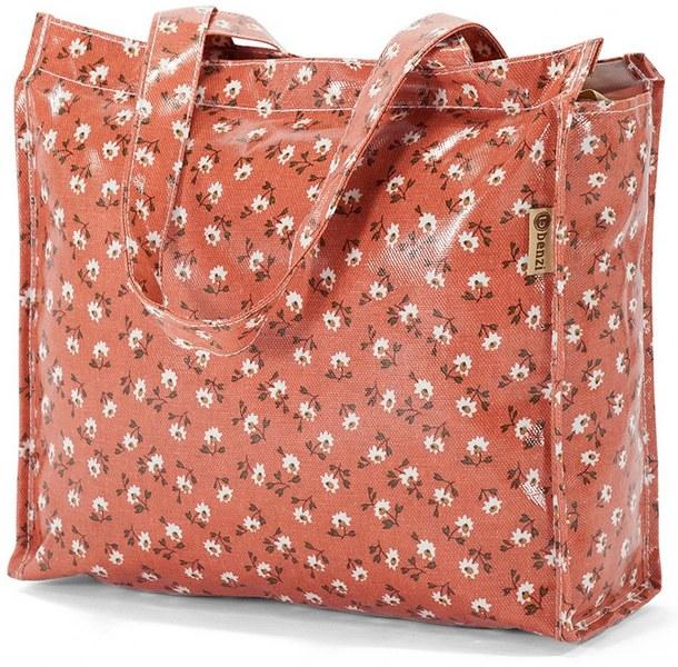 Τσάντα Αγορών 32x26x11εκ. benzi 5397 Κοραλί - benzi - bz-5397-korali ειδη οικ  χρησησ βαλίτσες   τσάντες ταξιδίου