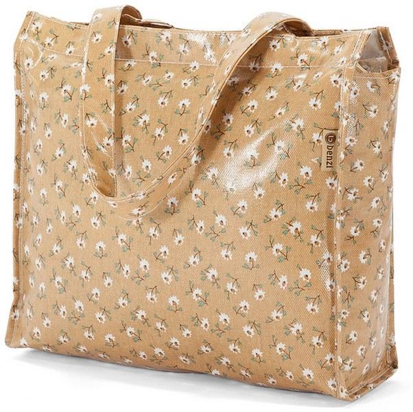 Τσάντα Αγορών 32x26x11εκ. benzi 5397 Μπεζ - benzi - bz-5397-mpez ειδη οικ  χρησησ βαλίτσες   τσάντες ταξιδίου