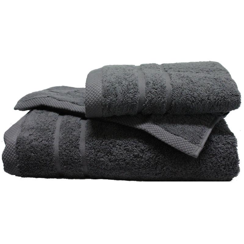 Πετσέτα Χεριών 40×60εκ. 600gr/m2 Dora Grey 24home – 24home.gr – 24-dora-tmx-grey-1