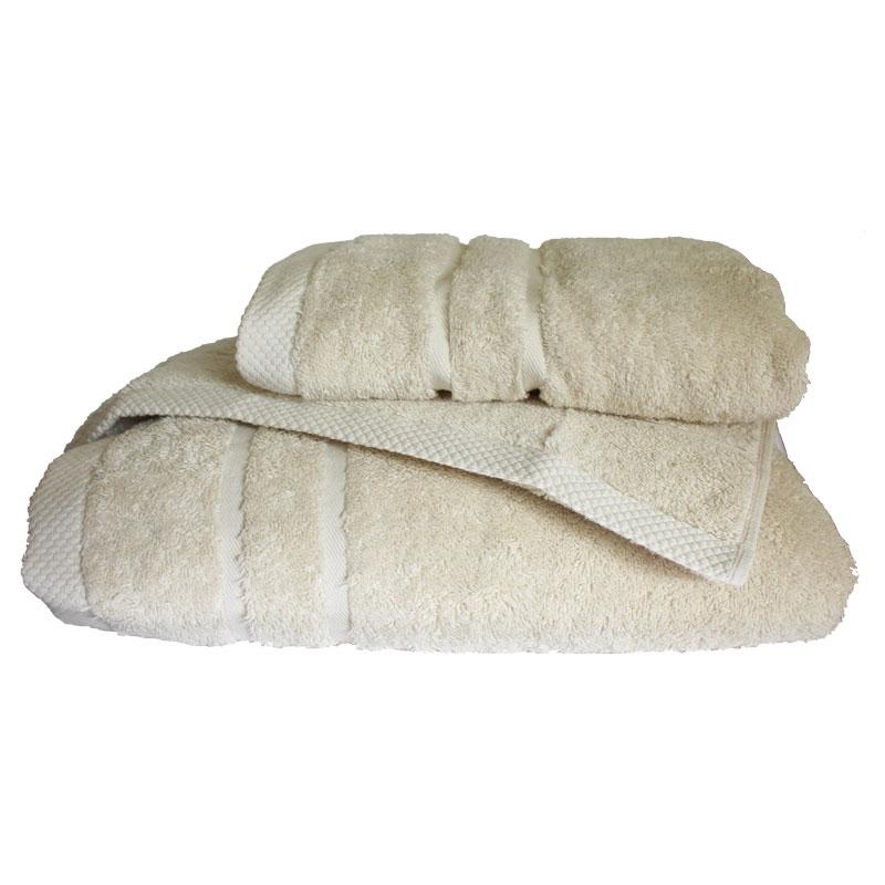 Σετ πετσέτες 3τμχ 600gr/m2 Dora Sand 24 home – 24home.gr – 24-dora-sand