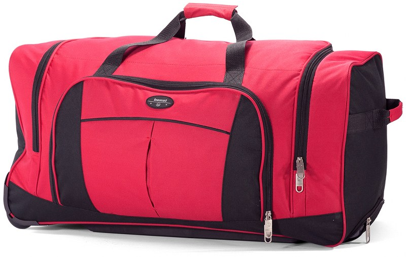 Σακ Βουαγιάζ Τρόλεϊ με 2 Ρόδες benzi 5364 Red - benzi - bz-5364-red ειδη οικ  χρησησ βαλίτσες   τσάντες ταξιδίου