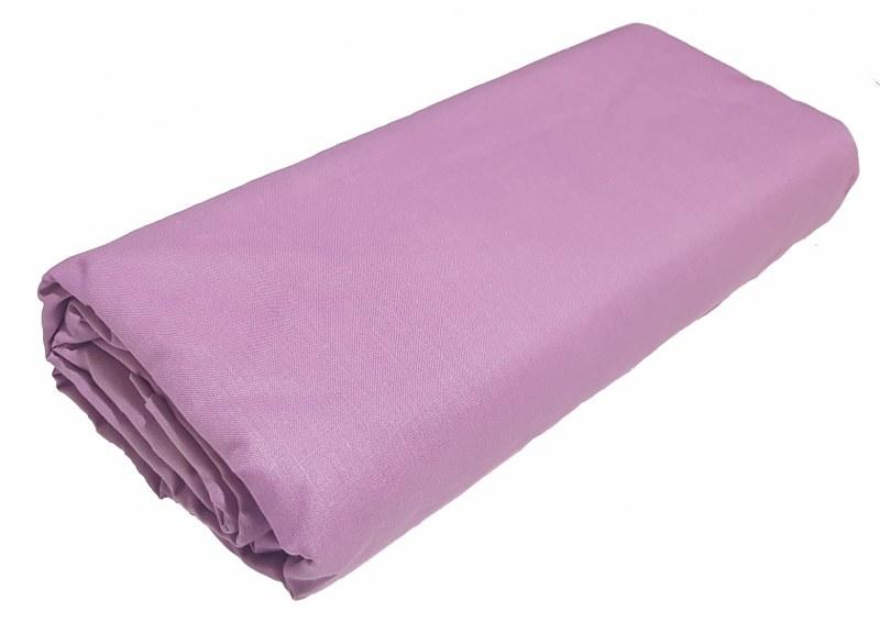 Σεντόνι Μονό με Λάστιχο Μεμονωμένο 100χ200+20εκ. Lilac - KOMVOS HOME - memon-las λευκα ειδη υπνοδωμάτιο σεντόνια μονά   ημίδιπλα
