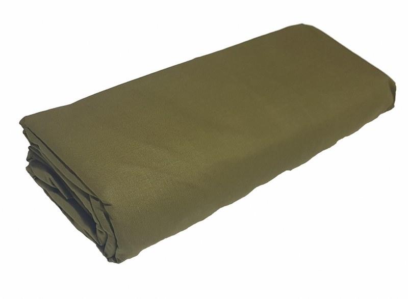 Σεντόνι Μονό με Λάστιχο Μεμονωμένο 100χ200+20εκ. Army Green – KOMVOS HOME – memon-last-armygreen-sent1