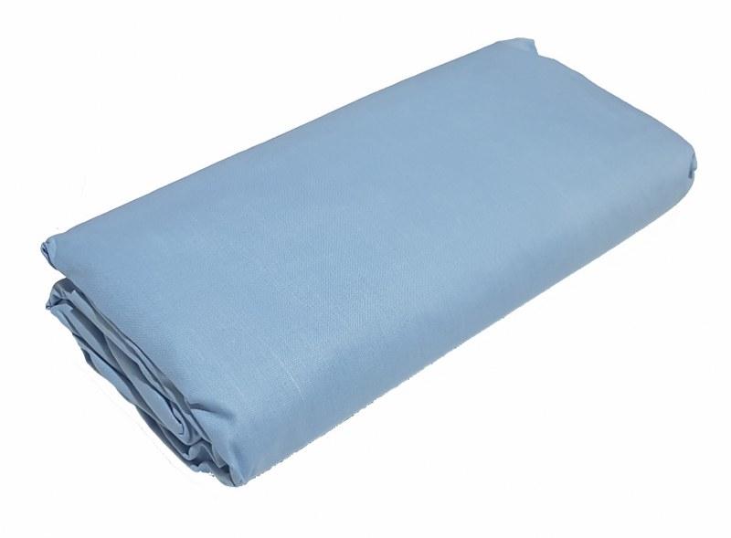 Σεντόνι Διπλό Μεμονωμένο 200χ240εκ. Sky Blue - KOMVOS HOME - memon-skyblue-sent2 λευκα ειδη υπνοδωμάτιο σεντόνια διπλά   υπέρδιπλα