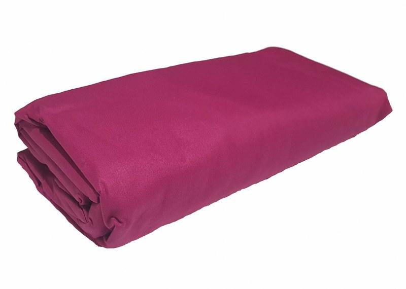 Σεντόνι Διπλό με Λάστιχο Μεμονωμένο 150χ200+20εκ. Fuchsia (Ύφασμα: 50%Cotton-50%Polyester, Χρώμα: Φούξια) – KOMVOS HOME – memon-last-fuchsia-sent2