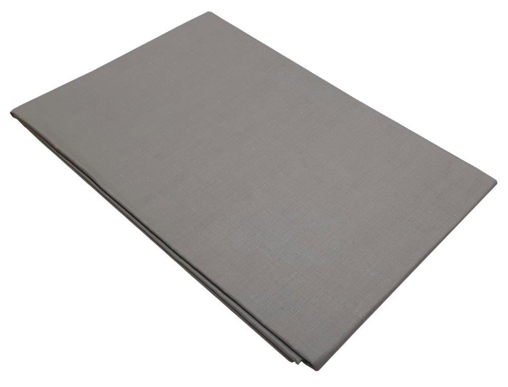 Σεντόνι Υπέρδιπλο Μεμονωμένο 220χ240εκ. Grey - KOMVOS HOME - memon-grey-sent3 λευκα ειδη υπνοδωμάτιο σεντόνια διπλά   υπέρδιπλα