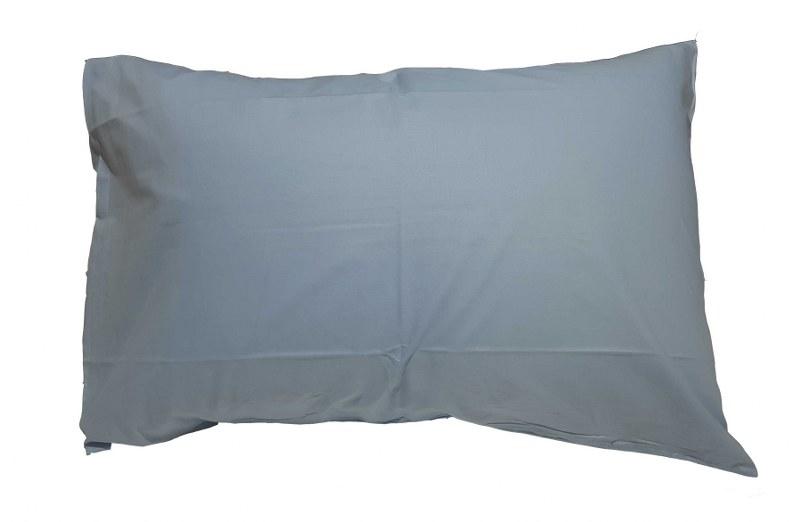 Ζεύγος Μαξιλαροθήκες Μονόχρωμες 50χ70εκ. Sky Blue – KOMVOS HOME – memon-max-skyblue