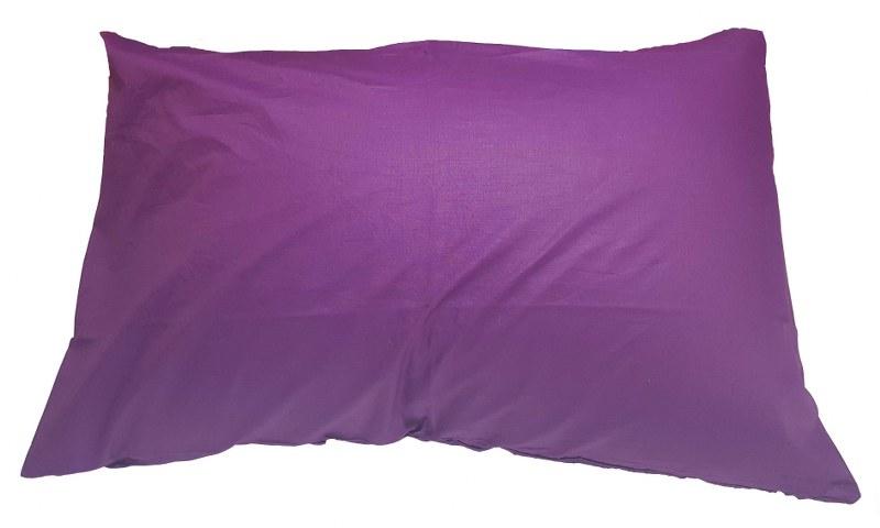 Ζεύγος Μαξιλαροθήκες Μονόχρωμες 50χ70εκ. Mauve (Ύφασμα: 50%Cotton-50%Polyester, Χρώμα: Μωβ) – KOMVOS HOME – memon-max-mauve