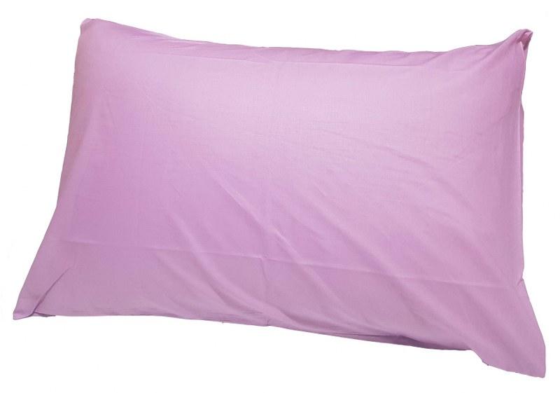 Ζεύγος Μαξιλαροθήκες Μονόχρωμες 50χ70εκ. Lilac (Ύφασμα: 50%Cotton-50%Polyester, Χρώμα: Λιλά) – KOMVOS HOME – memon-max-lilac