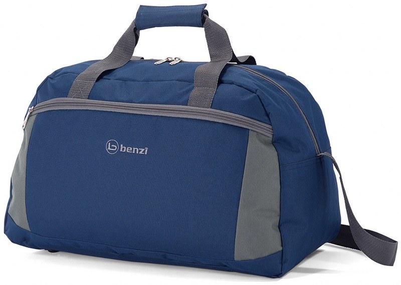Σακ βουαγιάζ 49x29x23εκ. benzi BZ5370 Μπλε - Γκρι - benzi - BZ-5370-mple-gri ειδη οικ  χρησησ βαλίτσες   τσάντες ταξιδίου