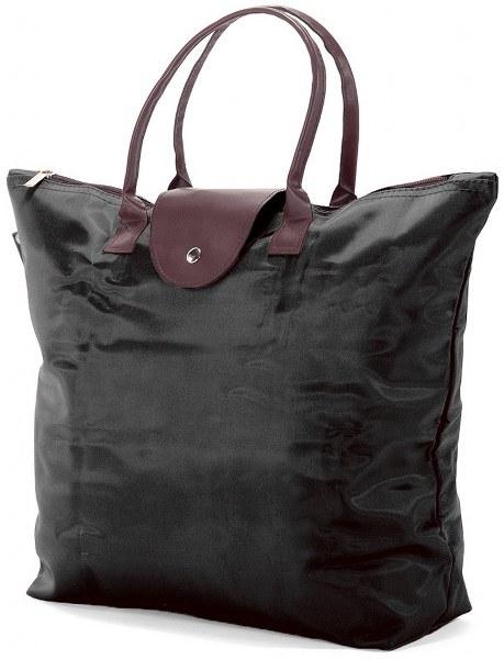 Τσάντα Αγορών 44x35x12εκ. benzi BZ5349 Μαύρη - benzi - BZ-5349-mauro ειδη οικ  χρησησ βαλίτσες   τσάντες ταξιδίου