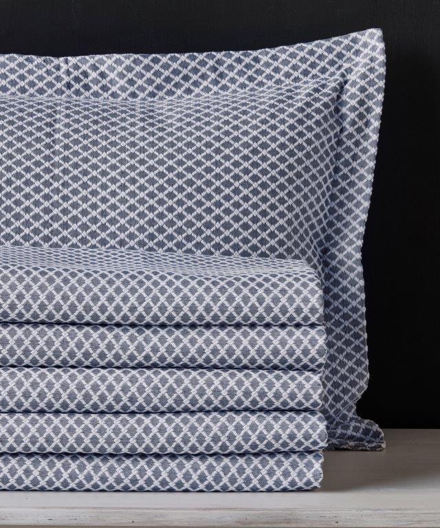 Κουβέρτα Polycotton Μονή 170×260εκ. Diamand 19 KENTIA 56955 (Ύφασμα: 80% Cotton – 20% Polyester) – KENTIA – 5205133348844