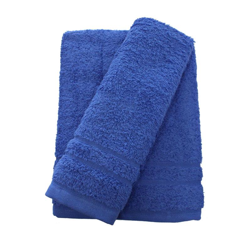 Σετ πετσέτες 2τμχ 500gr/m2 Sena Blue 24home – 24home.gr – 24-sena-blue-2