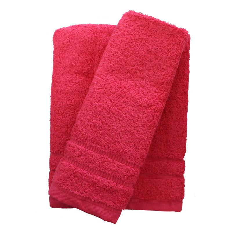 Σετ πετσέτες 2τμχ 500gr/m2 Sena Fuchsia 24home – 24home.gr – 24-sena-fuchsia-2