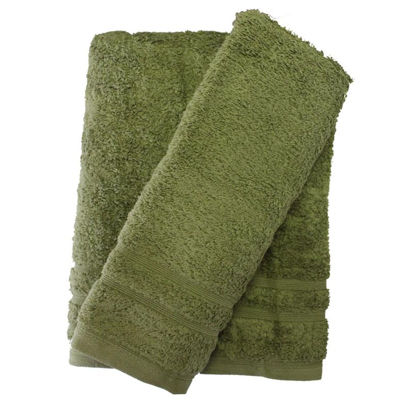 Σετ πετσέτες 2τμχ 500gr/m2 Sena Xaki 24home – 24home.gr – 24-sena-xaki-2