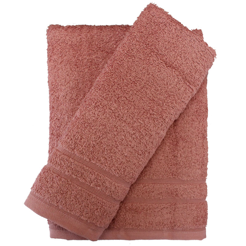 Σετ πετσέτες 2τμχ 500gr/m2 Sena Σάπιο Μήλο 24home (Ύφασμα: Βαμβάκι 100%, Χρώμα: Ροζ) – 24home.gr – 24-sena-sapio-milo-2