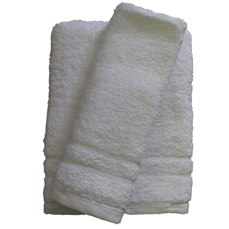 Σετ πετσέτες 2τμχ 500gr/m2 Sena White 24home – 24home.gr – 24-sena-white-2