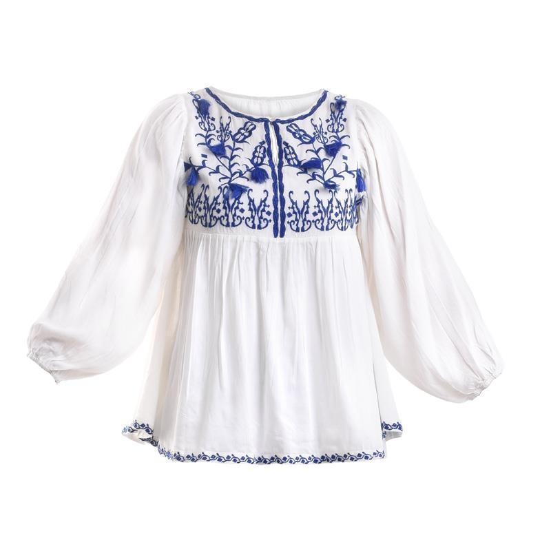 Μπλούζα Ble One Size 5-41-745-0007 - ble - 5-41-745-0007 λευκα ειδη θαλάσσης φουλάρια παρεό καφτάνια