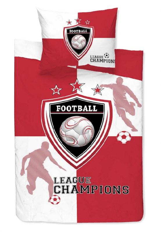 Σετ Σεντόνια Μονά 160×240εκ. Εμπριμέ Team Red 24home – 24home.gr – 24-team-red-sent1