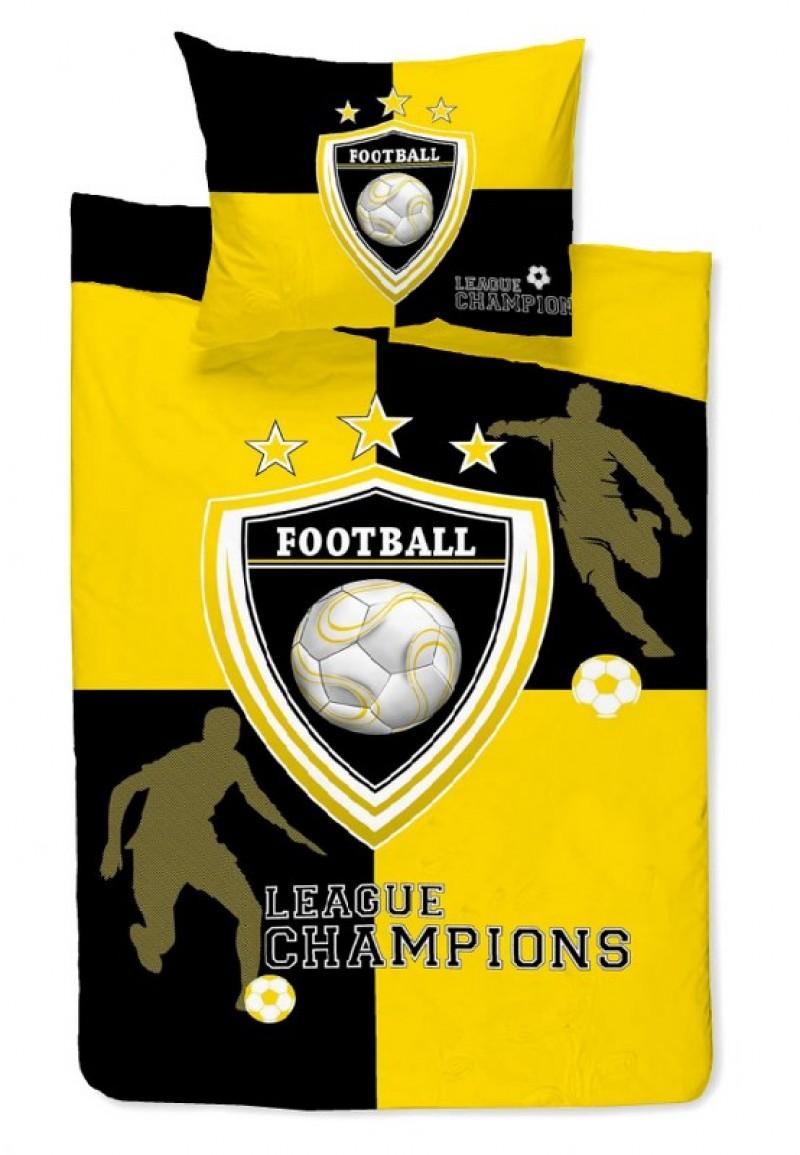 Κουβερλί Μονό 160×240εκ. Team Yellow 24home – 24home.gr – 24-team-yellow-k1