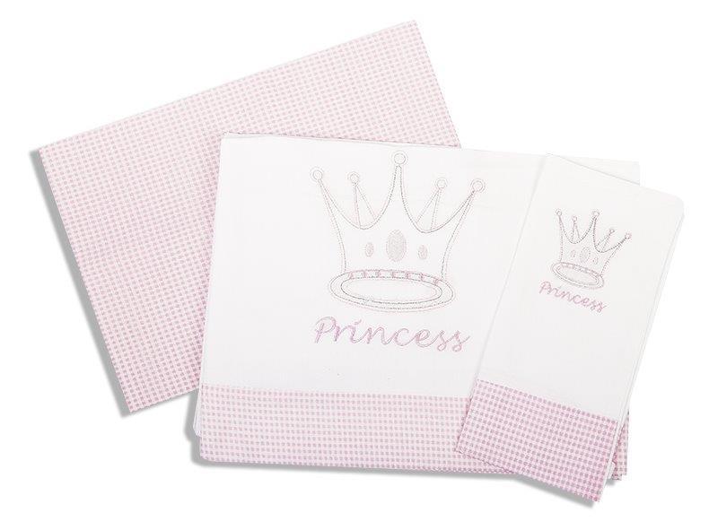 Σετ Σεντόνια Μπεμπέ 120×170εκ. Princess 33 Dimcol. – DimCol – 1212614601503319