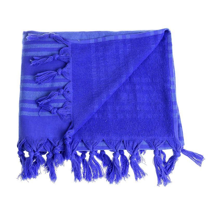 Πετσέτα Θαλάσσης-Παρεό Βαμβακερή 160×75εκ. ble 5-46-074-0021 (Χρώμα: Μπλε) – ble – 5-46-074-0021