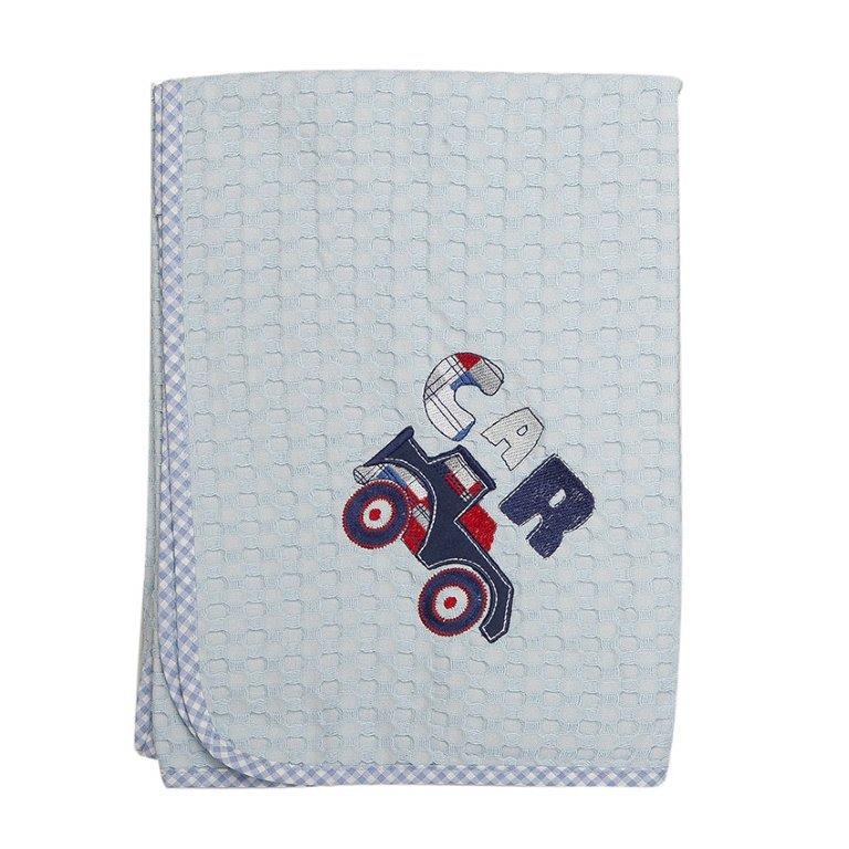 Κουβέρτα Κούνιας Πικέ 110×160εκ. Car 29 Dim Collection – DimCol – 1210414200302928