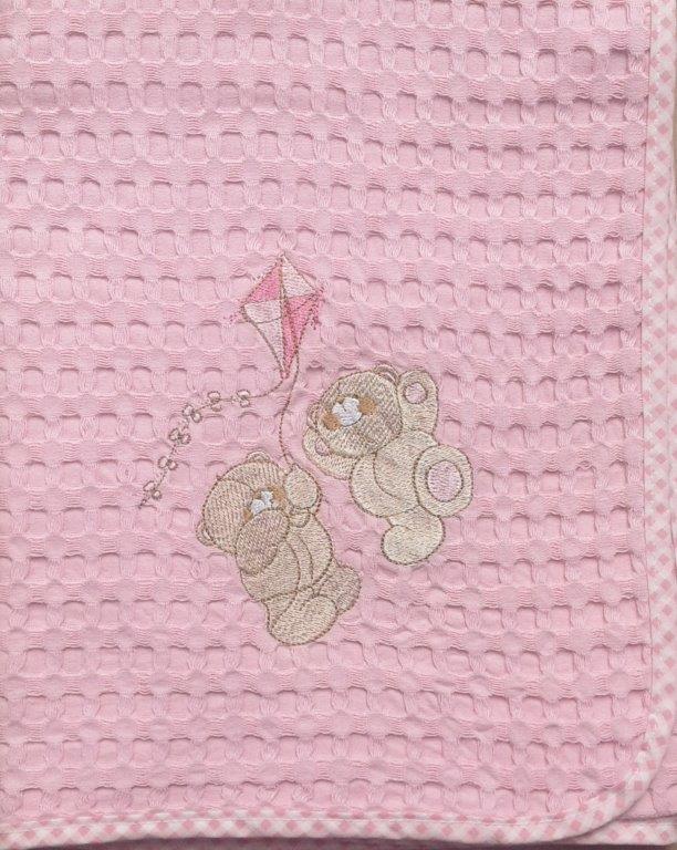 Κουβέρτα Κούνιας Πικέ 110×160εκ. Χαρταετός 95 Dim Collection – DimCol – 1210414205809526