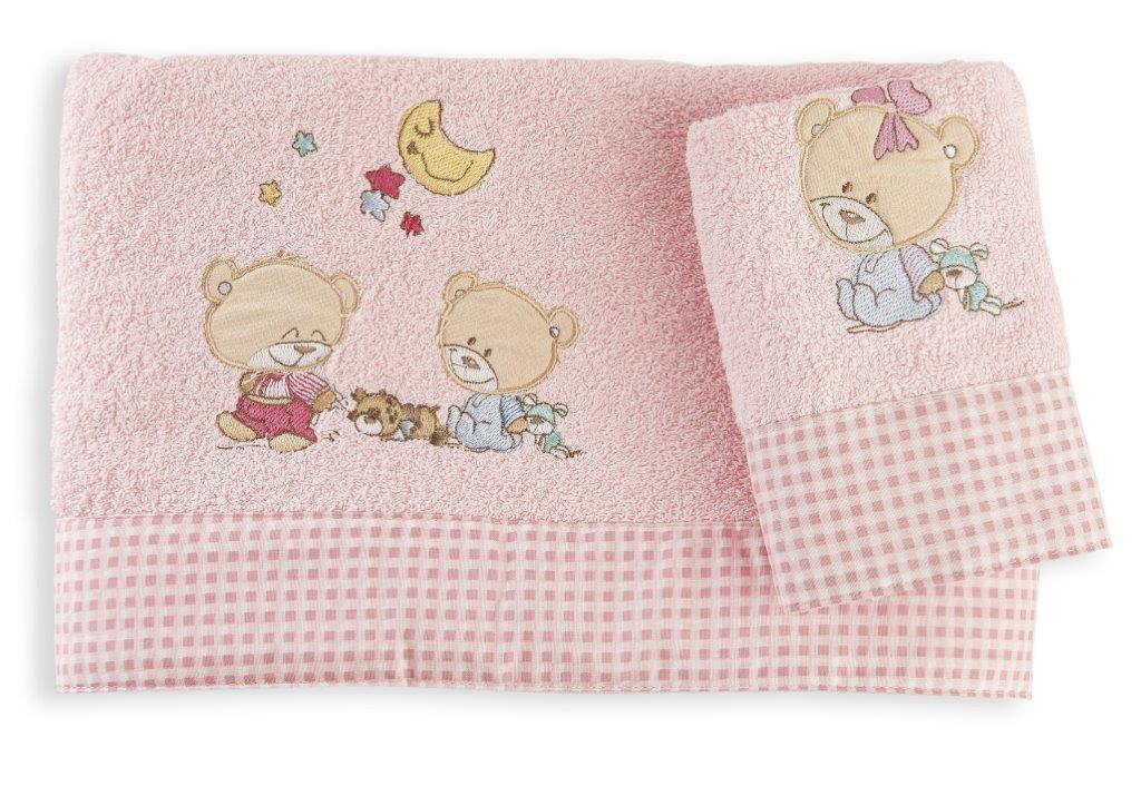 Σετ Πετσέτες 2τμχ Μπεμπέ Happy Bears 20 Dim Collection – Dim Collection – 1212115800802026