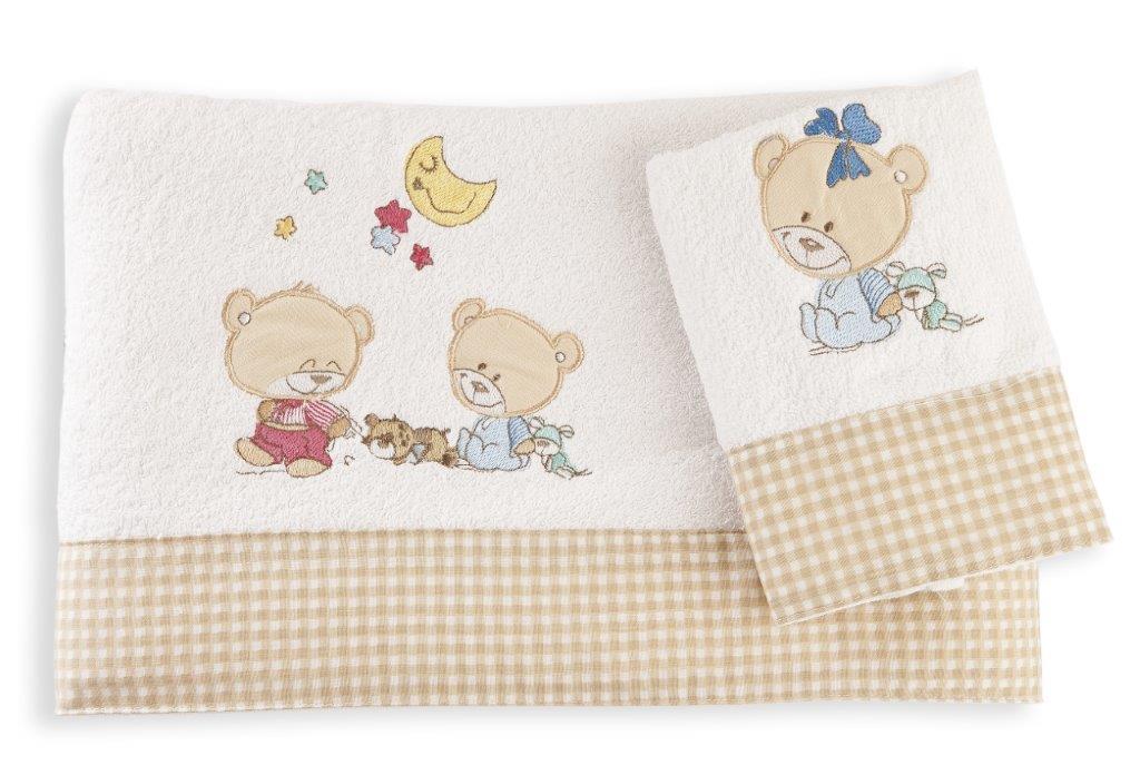 Σετ Πετσέτες 2τμχ Μπεμπέ Happy Bears 21 Dim Collection – Dim Collection – 1212115800802152