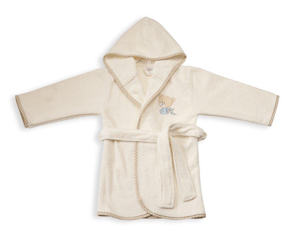 Μπουρνούζι Παιδικό Με Κουκούλα Happy Bears 22 Dim Collection 2 Ετών – DimCol – 1210910200802207