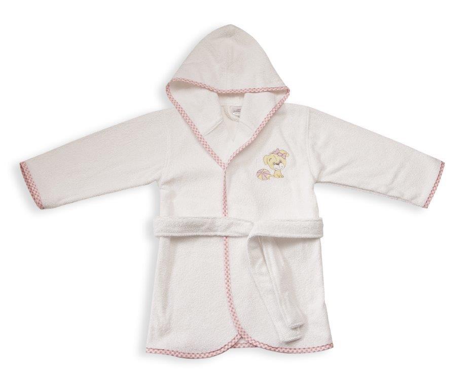 Μπουρνούζι Παιδικό Με Κουκούλα My Angel 09 Dim Collection 4 Ετών – DimCol – 1210910401200919