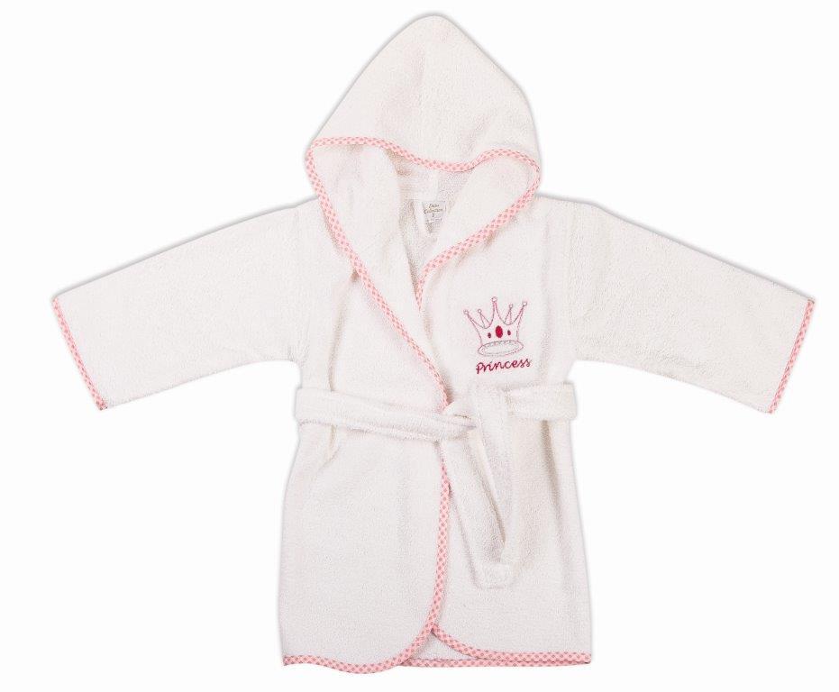 Μπουρνούζι Παιδικό Με Κουκούλα Princess 33 Dim Collection 4 Ετών – DimCol – 1210910401503319