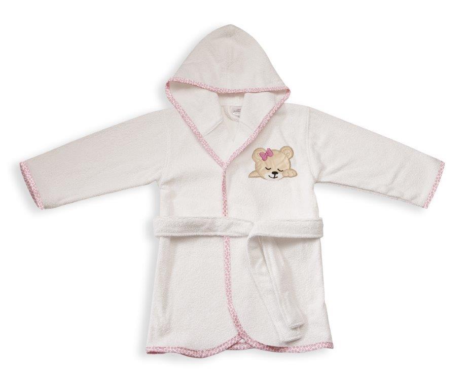Μπουρνούζι Παιδικό Με Κουκούλα Sleeping Bears Cub 12 Dim Collection 2 Ετών – DimCol – 1210910201701219