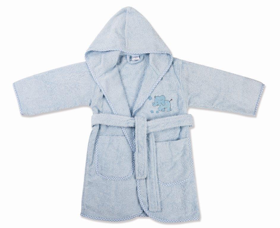 Μπουρνούζι Παιδικό Με Κουκούλα Ελεφαντάκι 16 Dim Collection 2 Ετών – DimCol – 1210910202401628