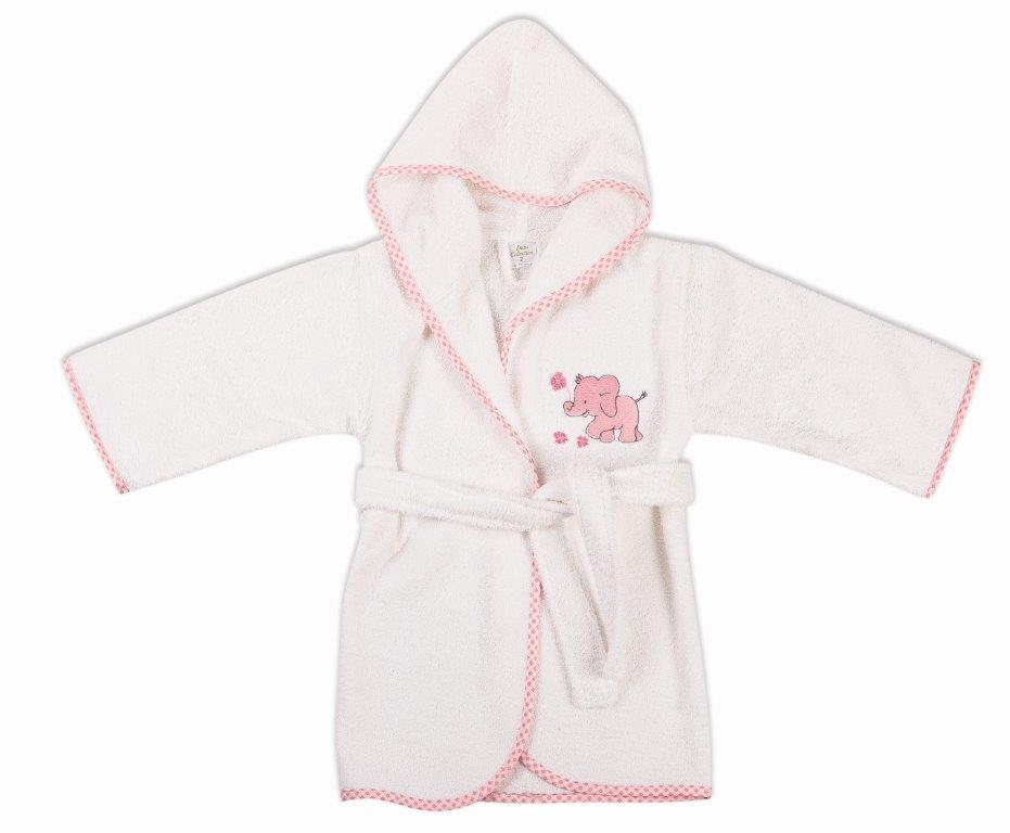 Μπουρνούζι Παιδικό Με Κουκούλα Ελεφαντάκι 17 Dim Collection 2 Ετών – DimCol – 1210910202401719