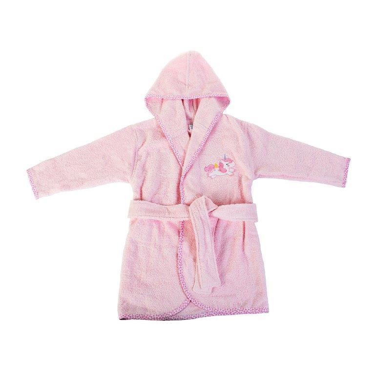 Μπουρνούζι Παιδικό Με Κουκούλα Unicorn 41 Dim Collection 2 Ετών – DimCol – 1210910206404126