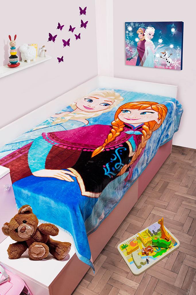 Κουβέρτα Μονή Βελουτέ 160×220εκ. Frozen 501 Dim Collection – Disney – 2520225600650199