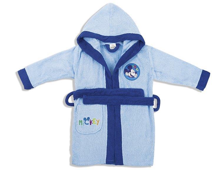 Μπουρνούζι Παιδικό Με Κουκούλα Mickey Dim Collection 8 Ετών – Disney – 2120910801000028