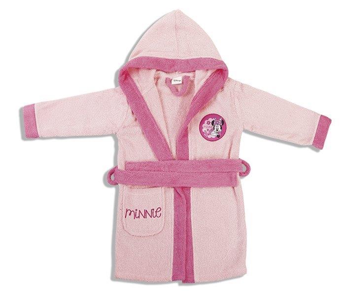 Μπουρνούζι Παιδικό Με Κουκούλα Minnie Dim Collection 2 Ετών – Disney – 2120910201100026