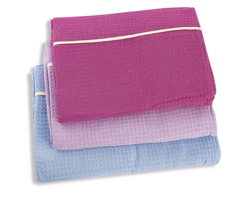 Κουβέρτα Πικέ Υπέρδιπλη 230×260εκ. Dim Collection Γαλάζιο – DimCol – 1330417000000059
