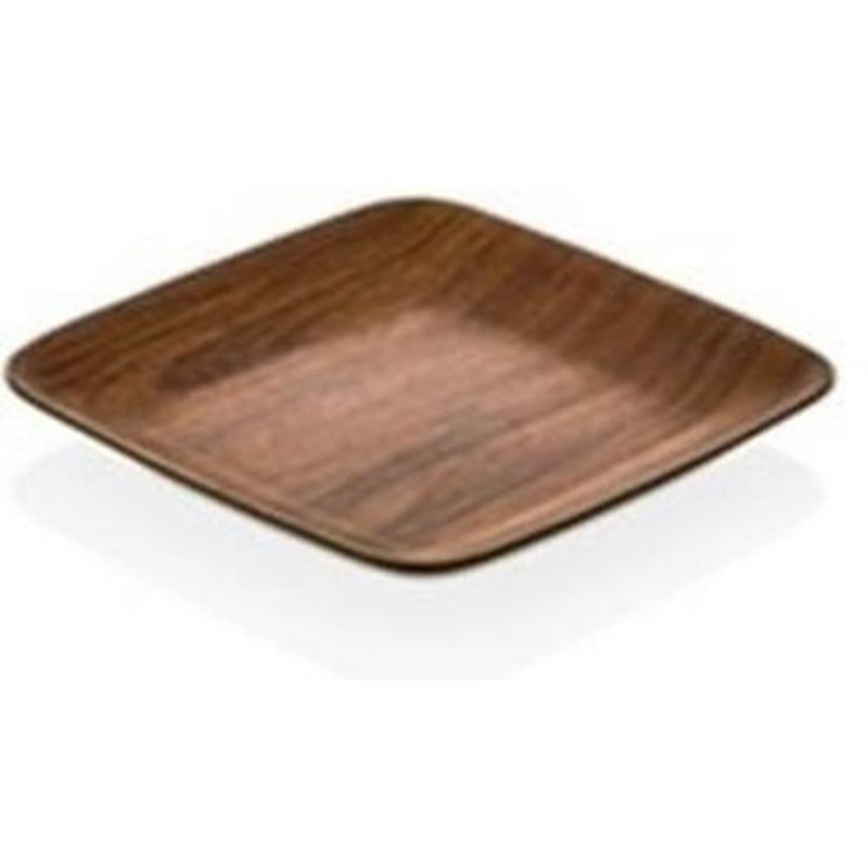 Πιάτο Τετράγωνο 19×19εκ. Evelin 10259 (Υλικό: Πολυστυρένιο) – EVELIN – 8-10259
