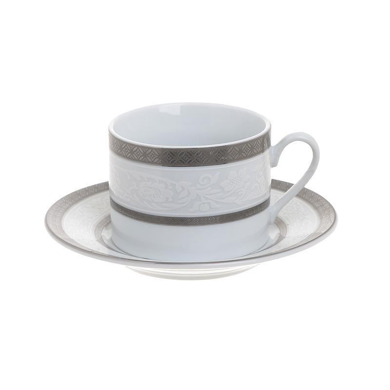 Σετ 6τμχ Φλυτζάνια Καφέ Πορσελάνης inart 100ml 3-60-707-0003 - inart - 3-60-707-0003