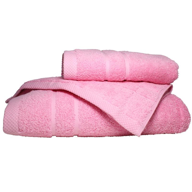 Σετ πετσέτες 3τμχ 600gr/m2 Dora Pink 24home – 24home.gr – 24-dora-pink-set