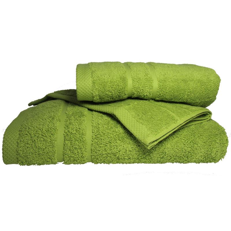 Σετ πετσέτες 3τμχ 600gr/m2 Dora Green 24home – 24home.gr – 24-dora-green-set