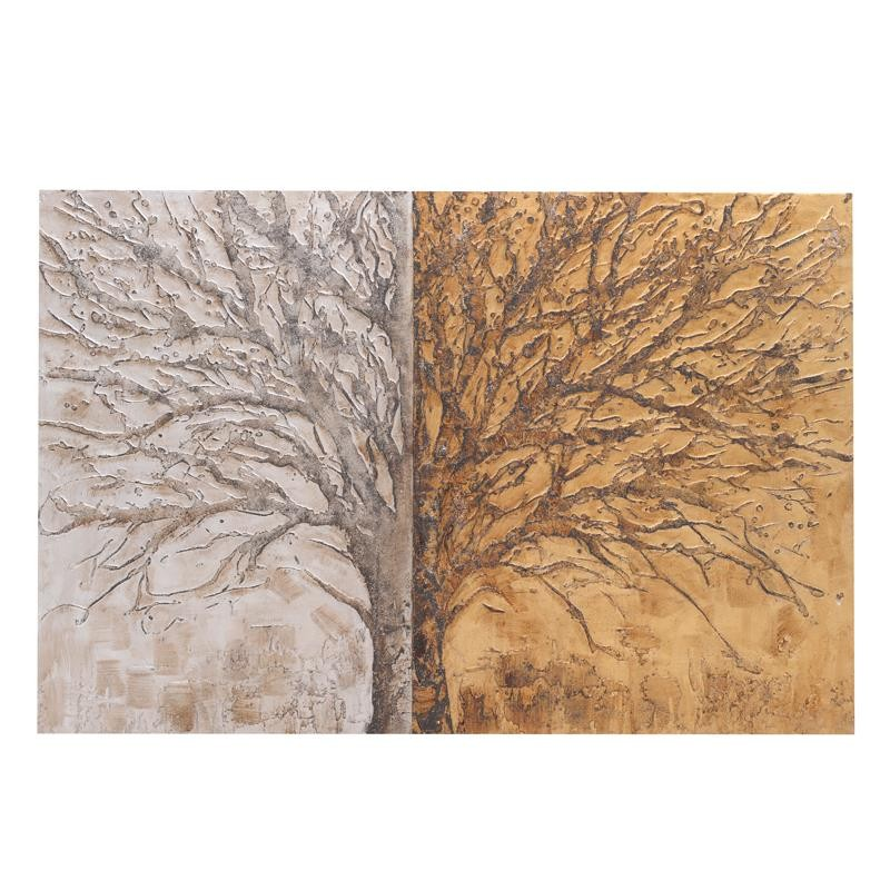 Πίνακας-Καμβάς Δέντρο inart 150x4x100εκ. 3-90-006-0195 – inart – 3-90-006-0195