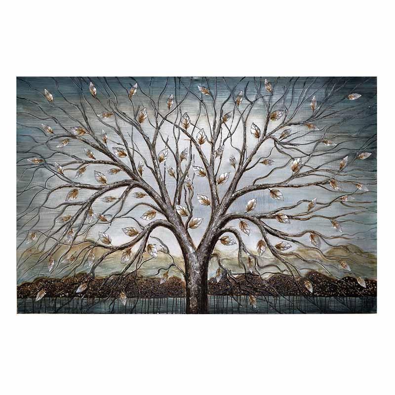 Πίνακας-Καμβάς Δέντρο inart 150x4x100εκ. 3-90-006-0157 – inart – 3-90-006-0157