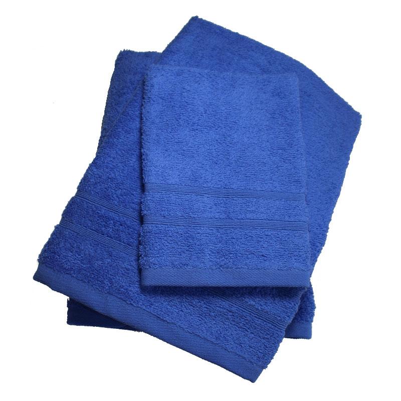 Σετ πετσέτες 3τμχ 400gr/m2 Bano Blue 24home – 24home.gr – bano-blue