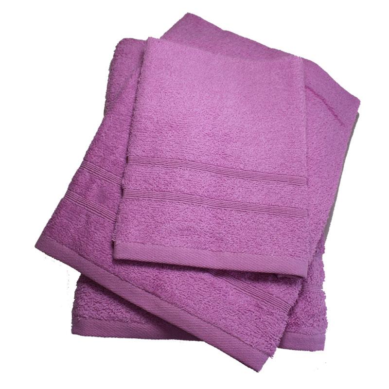 Σετ πετσέτες 3τμχ 400gr/m2 Bano Lilac 24home – 24home.gr – bano-lilac